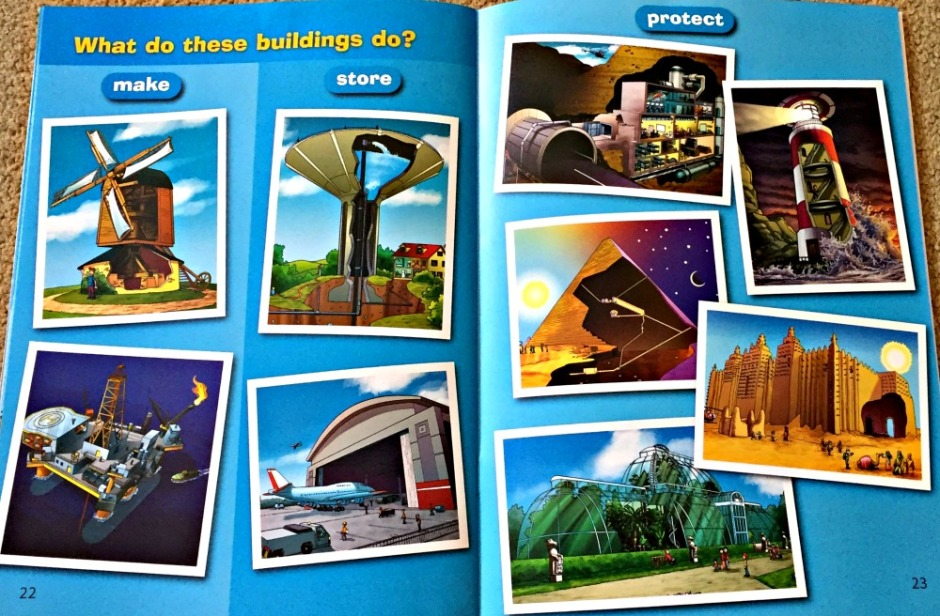 The BIG CAT reader, What's that Building includes lots of very interesting structures