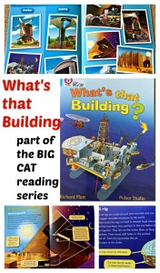 What's that Building. Part of the BIG CAT reading series by Collins. Brilliant for kids who enjoy non-fiction stories