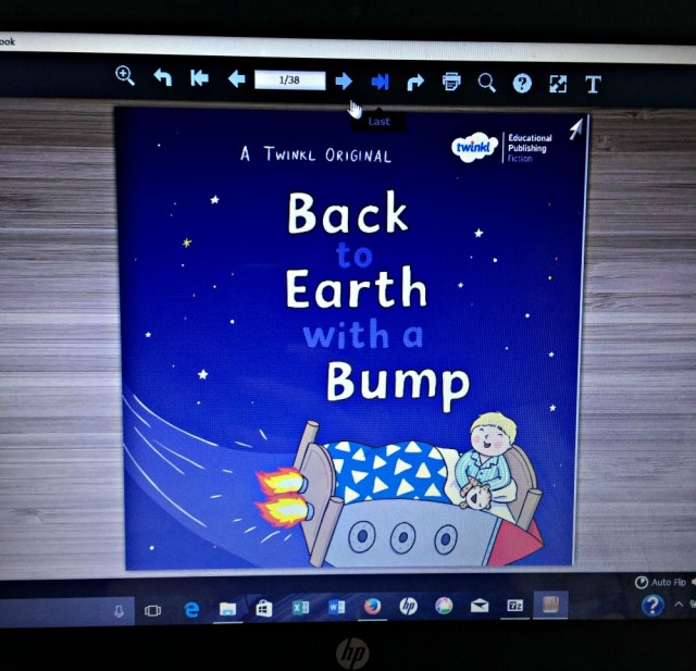 Twinkl original story. Back to Earth with a Bump