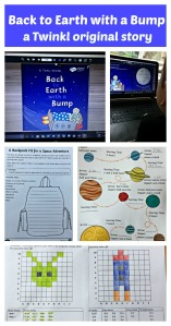 Back to Earth with a Bump. A Twinkl original story. eBook and lots of activities to download from the Twinkl Resources website
