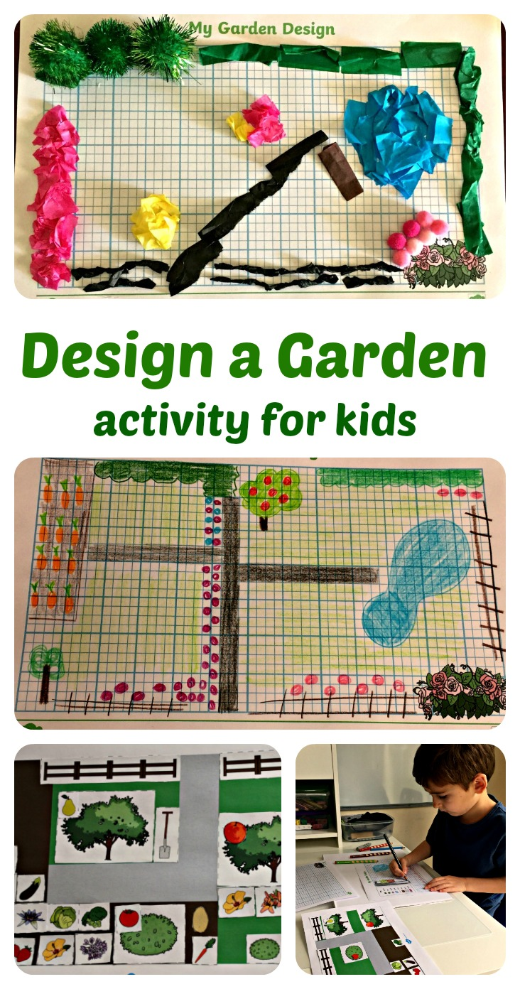 design a garden activity ofamily learning together