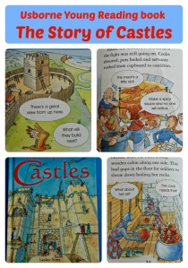 Usborne Young Reading Book. The Story of Castles. A great book for young kid learning about Castles, Knights and the Middle Ages