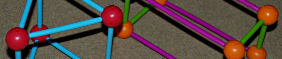 Dive into Shapes a fun maths set which allows the children to build 2 dimensional and 3 dimensional shapes