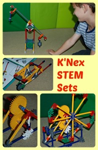 K'Nex STEM sets.  Gears and Leveers & Pulleys.  Great for helping kids understand basic machine concepts