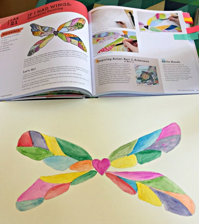 Paint Lab for Kids. An art book filled with lots of inspiring painting activities for kids to do.