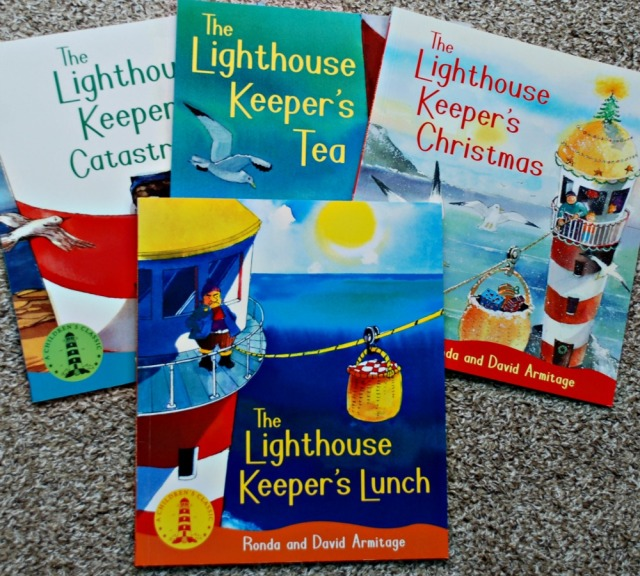 The Lighthouse Keeper's series is a lovely set of children's book which also make great readers
