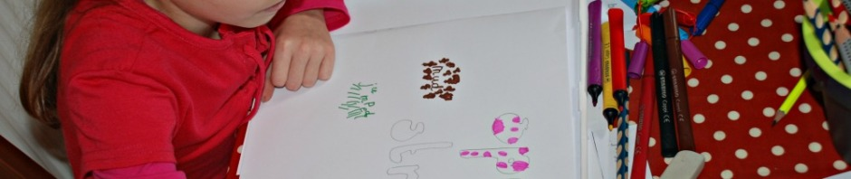 Creating our own Calligrams after reading the Twinkl Original eBook Little Acorns