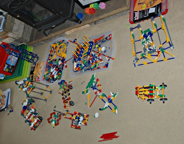 K'Nex has taken over our home