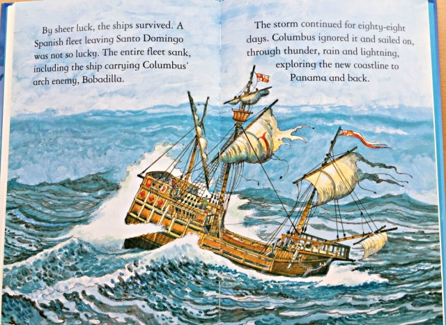 One of the Usborne Young Reading Series books - Christopher Columbus