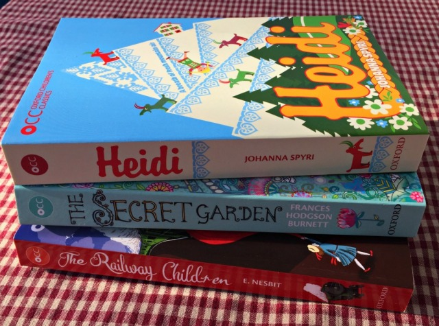 Oxford Children's Classic Range of Stories. Include Heidi, The Railway Children and The Secret Garden