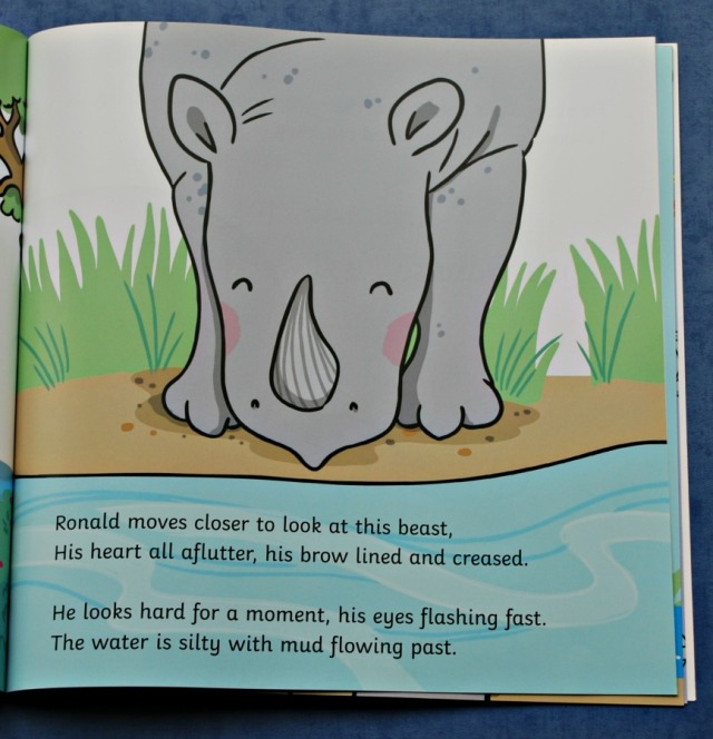 The Ronald the Rhino book a Twinkl original story. A story about acceptance