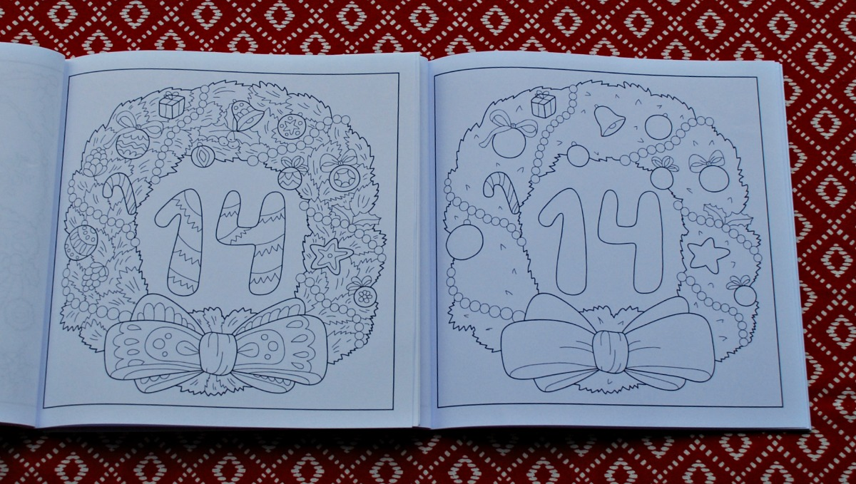 Advent Colouring Books   ofamily learning together