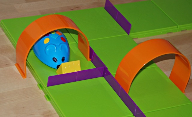 Code & Go Robot Mouse Activity Set from Learning Resources. Programe the mouse to find the cheese