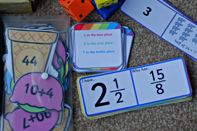 Our Maths Basket includes some Loop cards and matching cards from Twinkl Resources