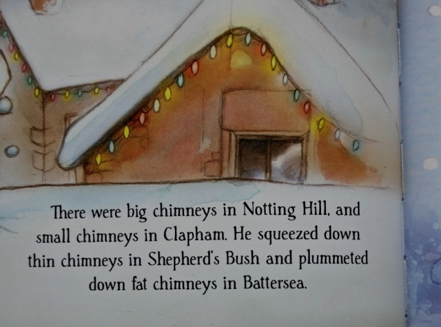 Santa is coming to London. All the different type of chimneys in London