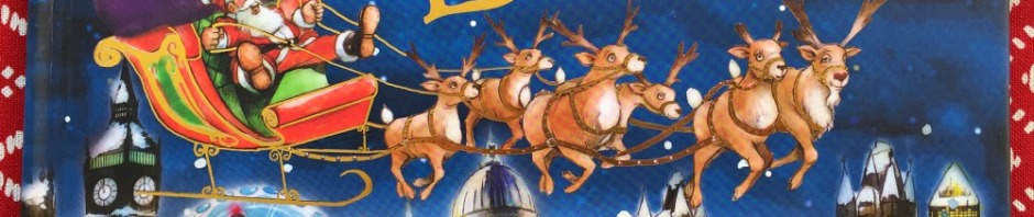 Santa is coming to London by Steve Smallman. A lovely children's Christmas story perfect for kids living in and around London