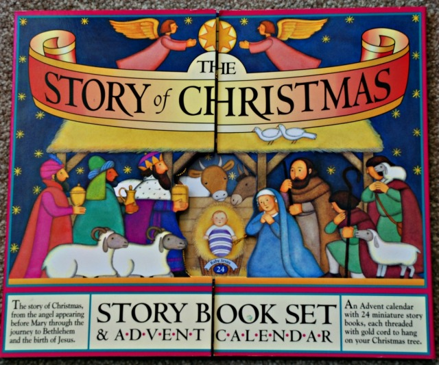 The Story of Christmas Story Book Set containing 24 booklets which you hang on the tree