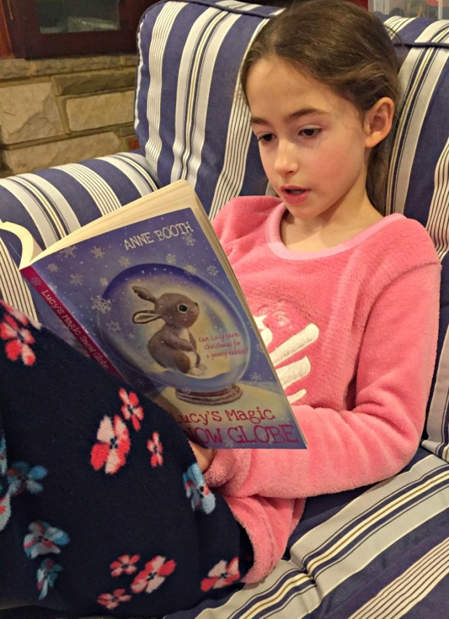 Reading Lucy's Magic Snow Globe by Anne Booth