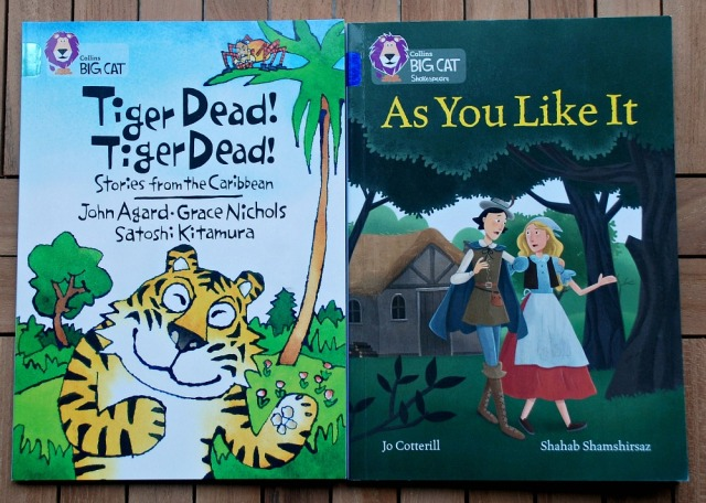 BIG CAT readers, Tiger Dead! Tiger Dead! Stories from the Caribbean and Shakespeare's As You Like It