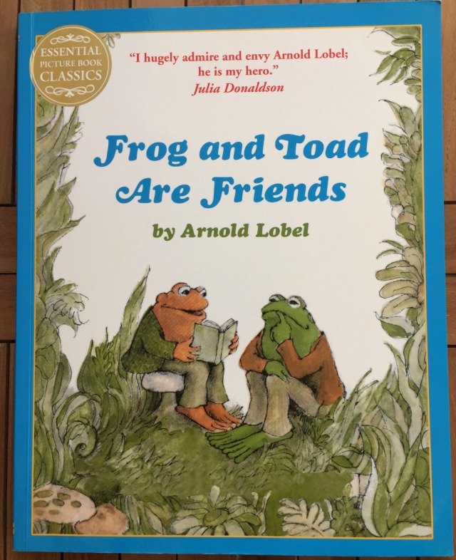 Frog and Toad Are Friends by Arnold Lobel. A sweet story book which also is a great reader