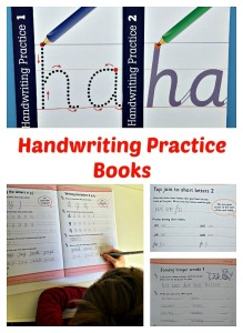 Handwriting Practice Books by Schofield & Sims.  Key stage 1 and key stage 2 ages