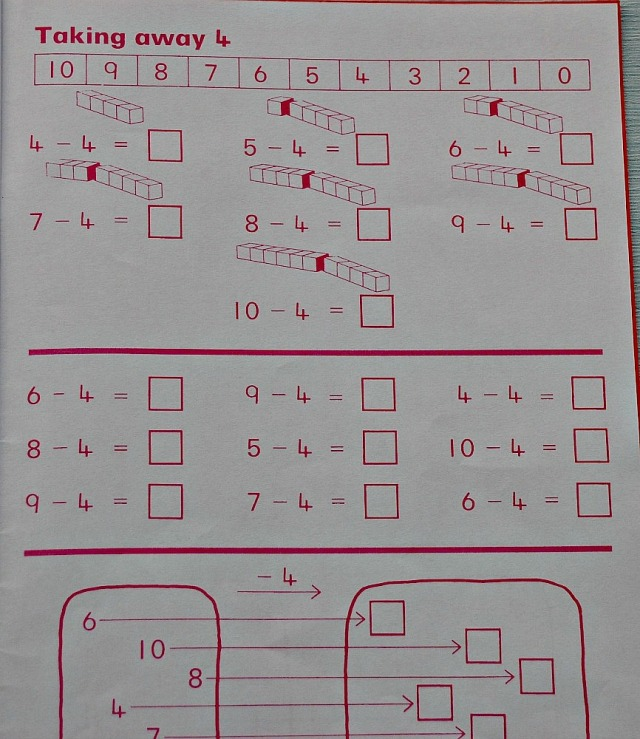 Schofield & Sims Number 1 Book. addition and subtraction practice for year 1.