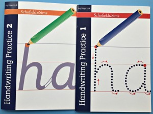 Schofield & Sims Handwriting Practice 1 and Schofield & Sims Handwriting Practice 2 Books