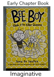 Bee Boy. Clash of the Killer Queen. An imaginative, fun early chaper book about a boy who can become a bee. ofamilylearningtogether.com