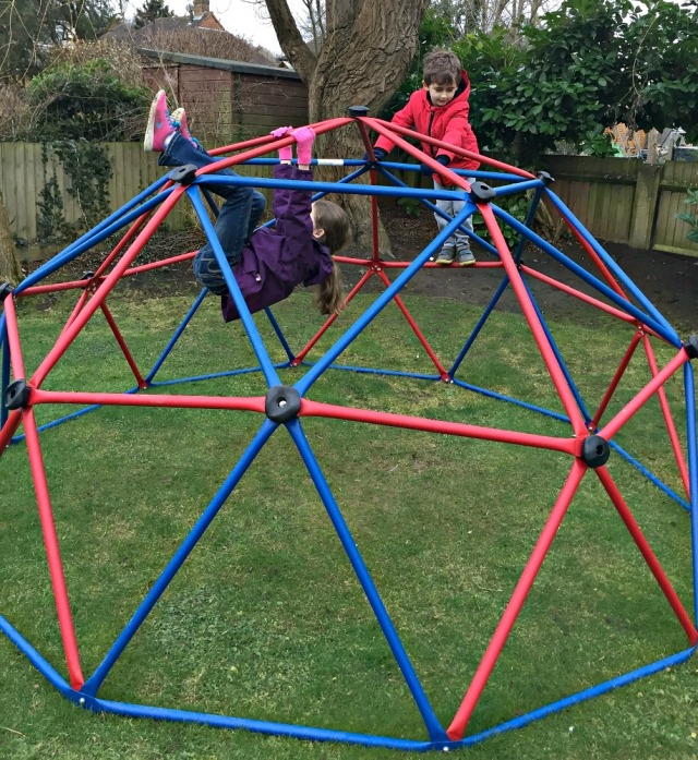 The Costco Climbing Frame. perfect for garden fun