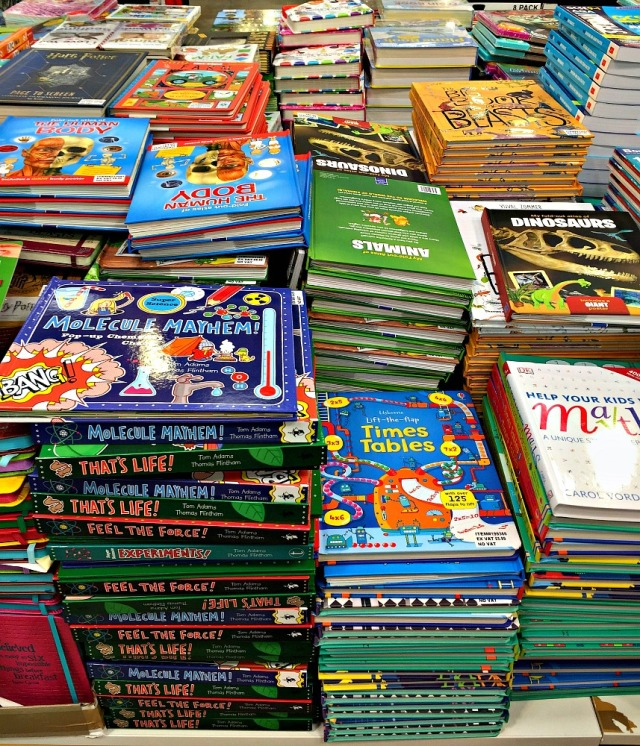 Some of the Stunning educational books you can buy at Costco UK