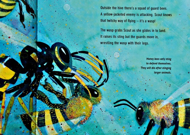 Flight of the Honey Bee. A brilliant children's book filled with lots of information about bees