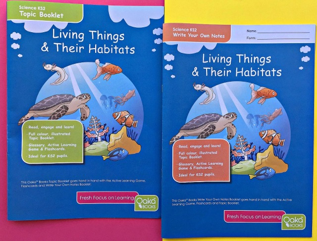 Oaka Books. Living Things and Their Habitats Topic Booklet and Write Your Own Notes