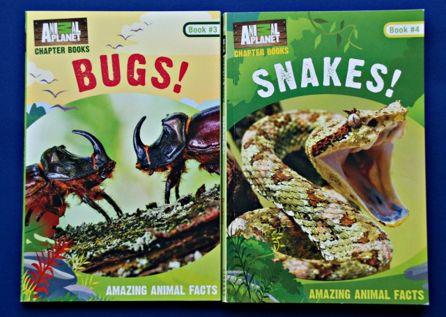 Animal Planet Chapter Books Bugs and Snakes. Non-fiction chapter books for young readers