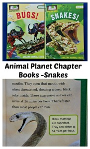 Animal Planet Chapter Book Snakes. Informative chapter book for younger readers