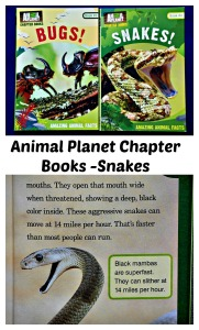 Animal Chapter Books Snakes. Very informative young chapter books for children you like reading non-fiction