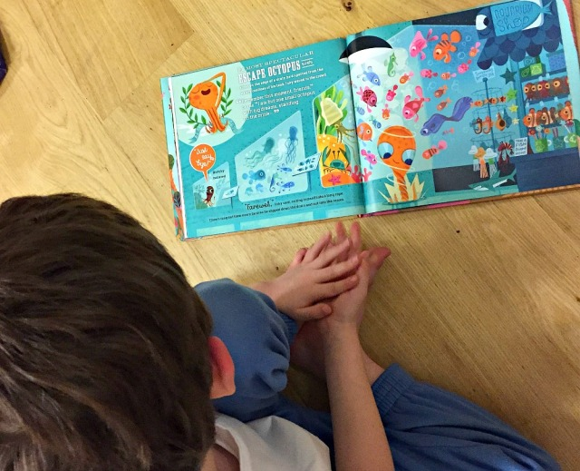 Reading Inky's Great Escape