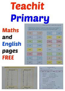 Teachit Primary Resources Website.  Lots of FREE to download Maths and English pages.