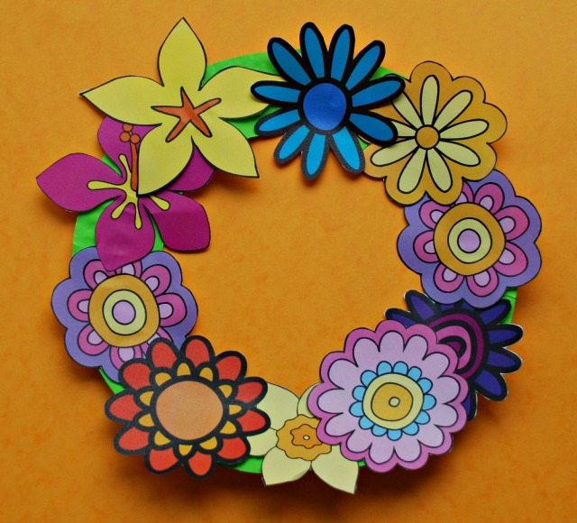 Activity Village Flower Wreath