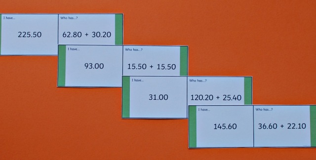Adding Decimals Loop Cards from Twinkl Resources. Perfect for Maths practice at home
