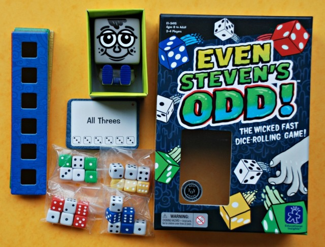 Even Steven's Odd!. A fun fast paced dice game from Learning resources