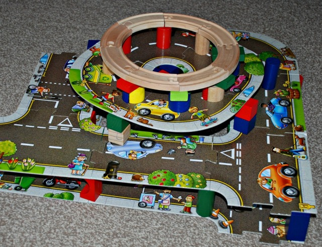 Giant Road Floor Puzzle by Orchard Toys