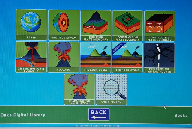 Oaka Digital Library. Geography Plate Techonics, Volcanoes and Earthquakes extra resources