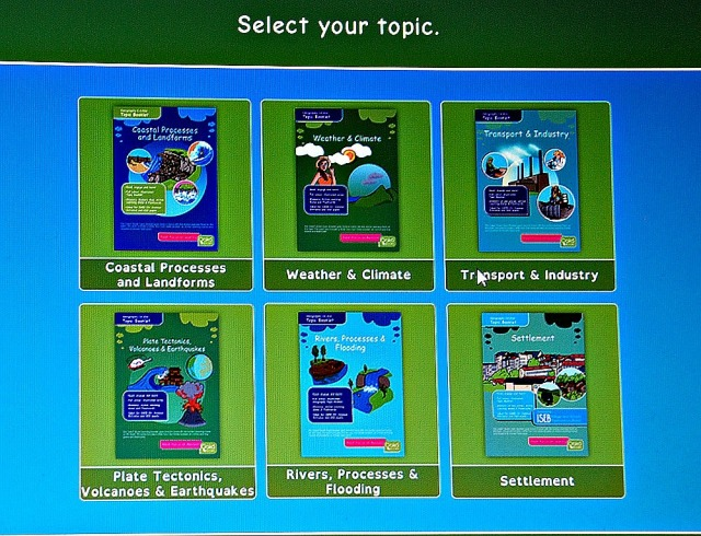 Oaka Digital Library. Select your Geography Topic