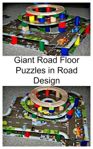 Orchard Toys Giant Road Floor Puzzle used in some road designs