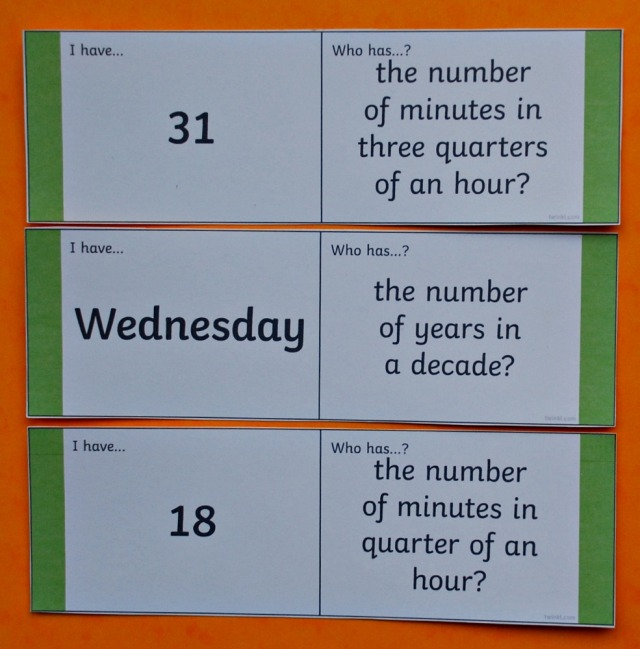 Twinkl Resources Days and Months Loop card set. Maths resource great for practice maths concepts at home