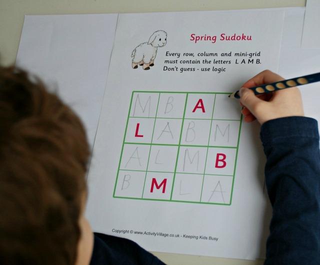 Activity Village Word Sudoku