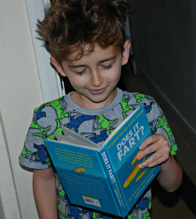 Does It Fart Book. Brilliant for getting kids reading and laughing