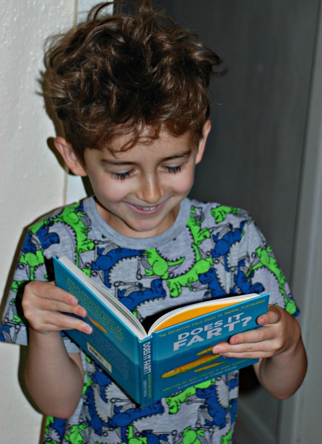 Does it Fart Book. Pure enjoyment reading for kids