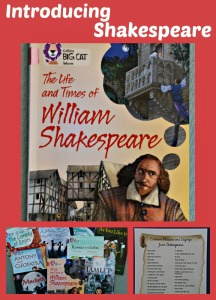 Introducing Shakespeare to younger children using Collins BIG CAT readers