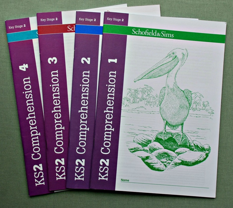 KS2 Comprehension books by Schofield & Sims. 4 Books included in the set